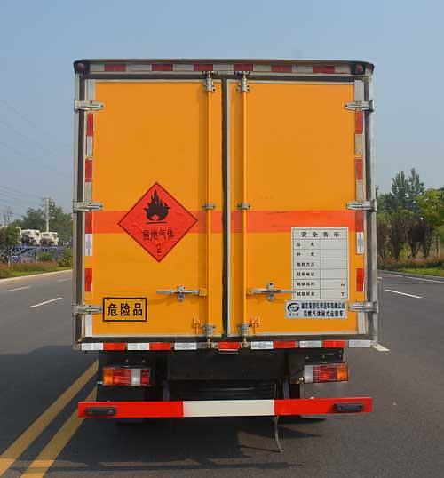 五十铃100P厢式气瓶运输车|易燃气体厢式运输车厢体