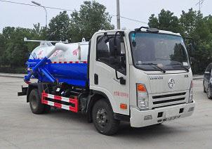 大运5吨吸污车(5方)