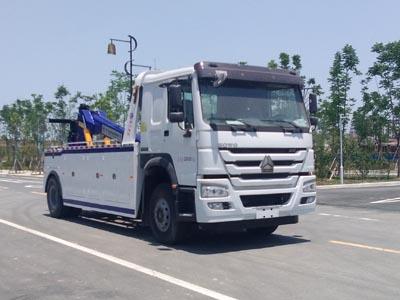 重汽豪沃12~16吨拖吊联体型清障车