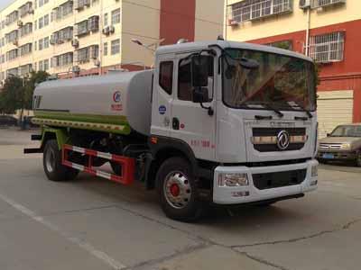东风多利卡D9国六14吨洒水车,洒水车