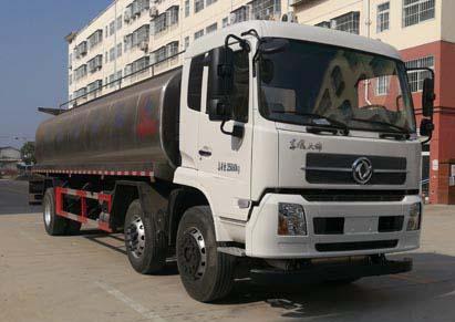 东风天锦小三轴鲜奶运输车(20方)