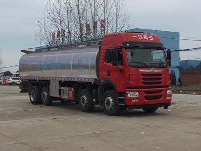 解放悍V前四后六鲜奶运输车(22~24方)