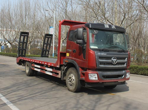 福田瑞沃15吨平板运输车