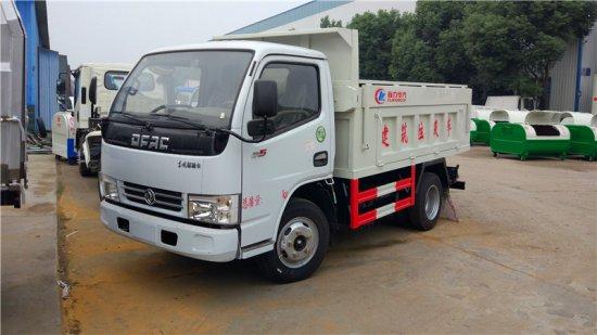 东风多利卡D5自卸式垃圾车(侧翻盖)