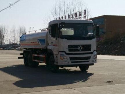 东风天龙17吨然气洒水车