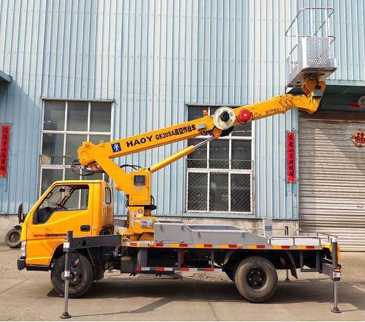 江铃蓝牌20米直臂伸缩式高空作业车