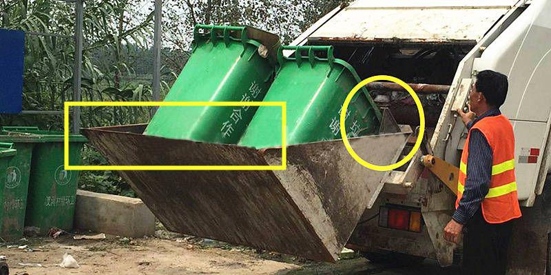 后装式压缩垃圾车