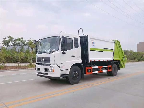 东风天锦10吨压缩垃圾车(国五)