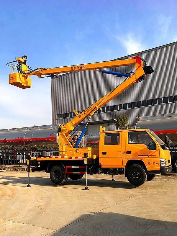江铃蓝牌12米高空作业车