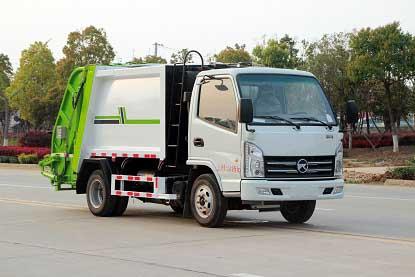 国六凯马压缩式垃圾车