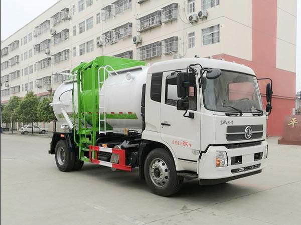 东风天锦国六餐厨垃圾车