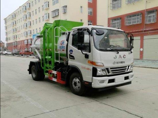 江淮国六餐厨垃圾车