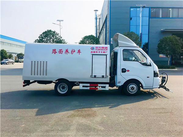 国六东风途逸小型清洗车图片