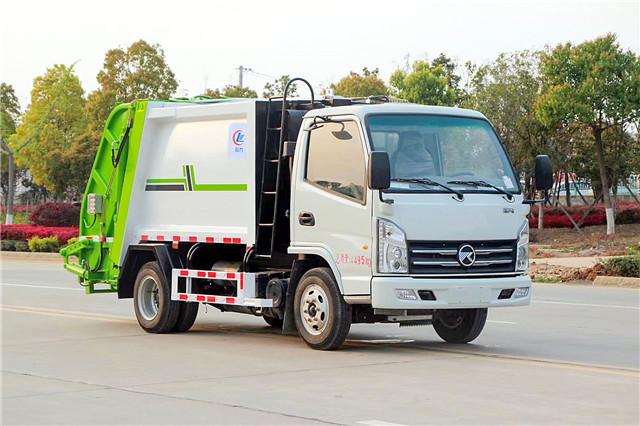 凯马蓝牌压缩式垃圾车