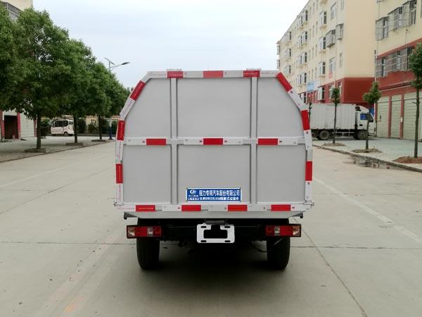 长安国六厢式垃圾车图片
