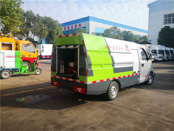 开瑞国六小型清洗车图片