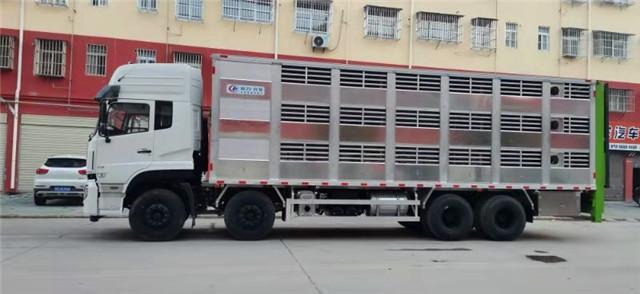 全铝合金高端畜禽运输车