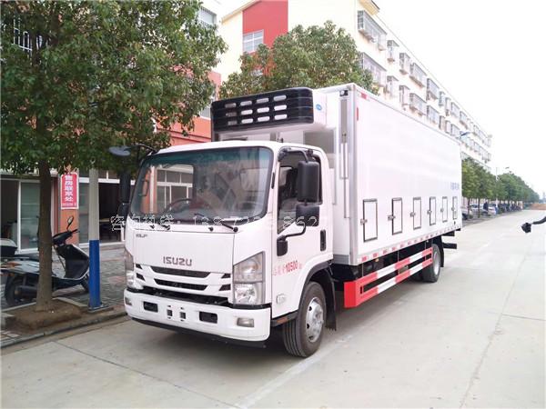 五十铃国六鸡苗运输车图片