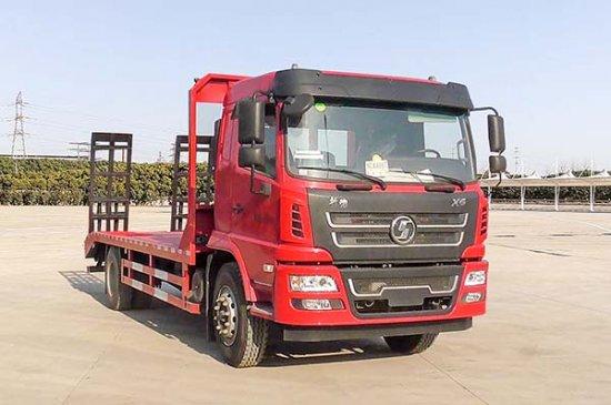 上户吨位达11吨的单桥平板运输车——陕汽轩德平板运输车