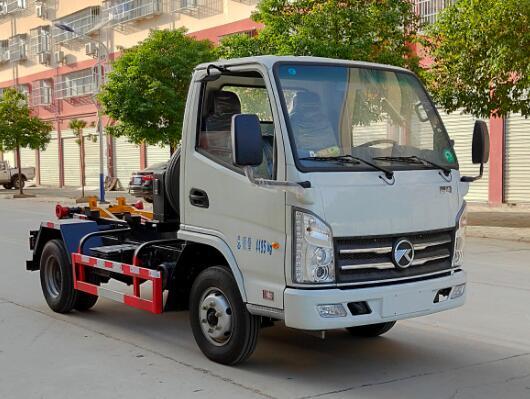 凯马勾臂式垃圾车(柴油),车厢可卸式垃圾车|拉臂式垃圾车