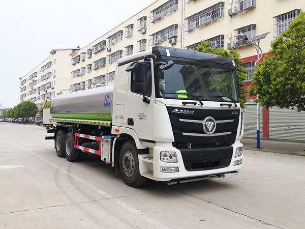 福田欧曼20吨洒水车(国六),洒水车