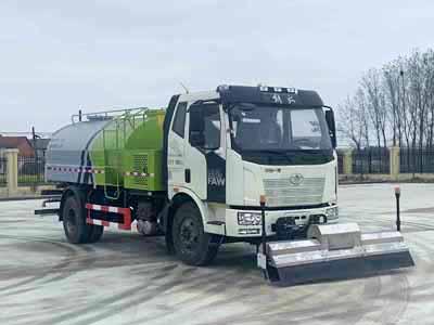 解放10吨路面清洗养护车