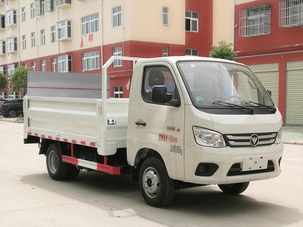 福田祥菱M1垃圾桶运输车,桶装垃圾运输车