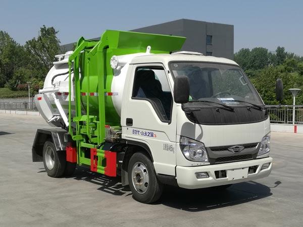 福田小卡之星3蓝牌餐厨垃圾车,餐厨垃圾车|泔水车