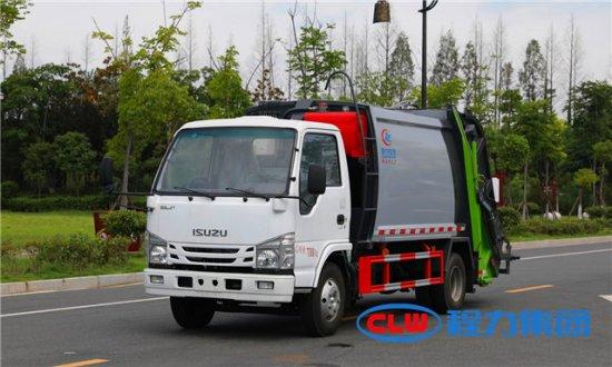 五十铃6方压缩垃圾车(100P)