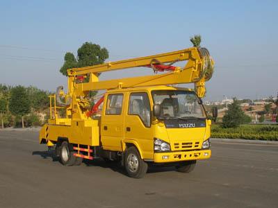 庆铃12-16米高空作业车