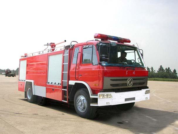 东风153抢险救援照明消防车,消防车