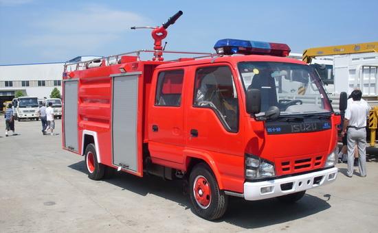 小五十铃抢险救援消防车,消防车