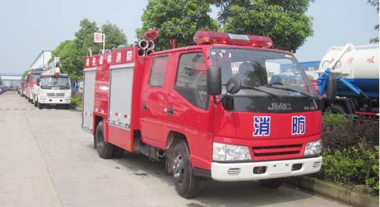江铃水罐消防车(2吨)