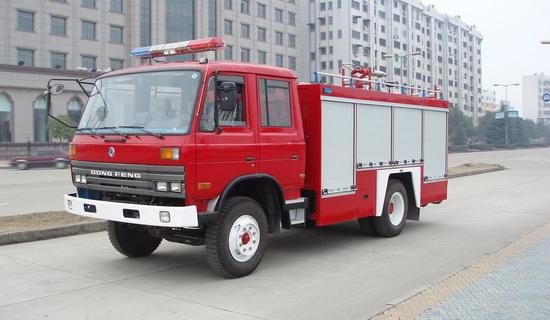 东风153水罐泡沫消防车(6吨)