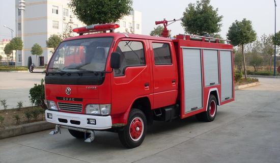 东风小霸王水罐消防车(2吨)
