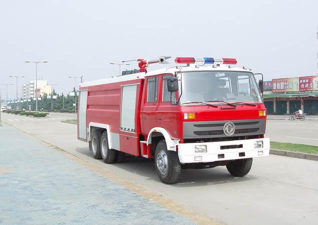 东风双桥水罐泡沫消防车(12-15T),消防车