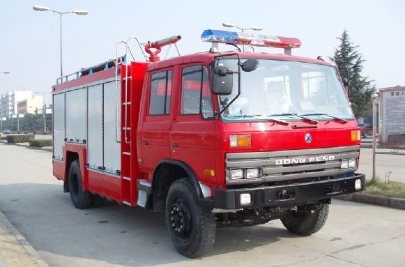 东风153泡沫消防车(6吨),消防车