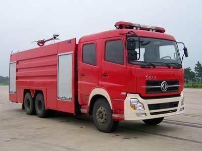东风天龙15吨水罐消防车,消防车