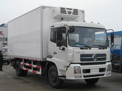 东风天锦冷藏车(5.9T),冷藏车